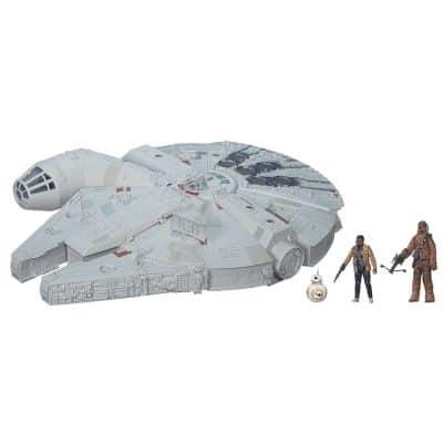 Star Wars- The Force Awakens Battle Action Millennium Falcon