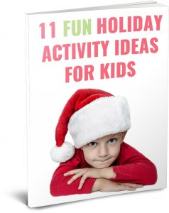 FREE Kids Holiday Activity Ideas Book!