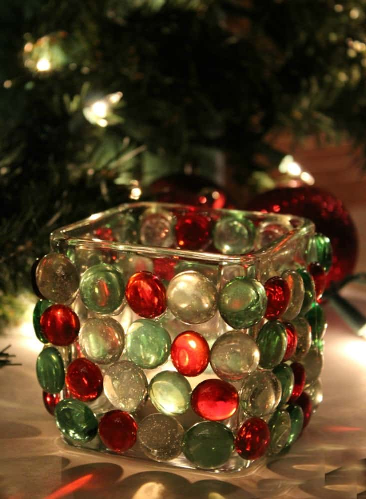 Christmas Candle Prism Light