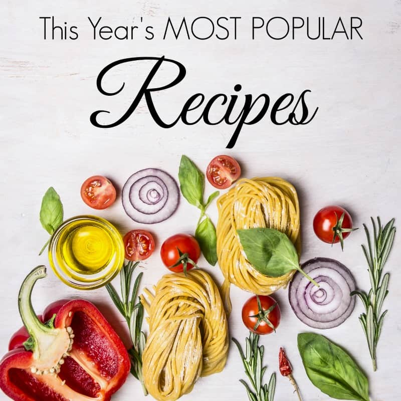 Here are THE BEST easy recipes of 2015 from Saving Dollars and Sense.