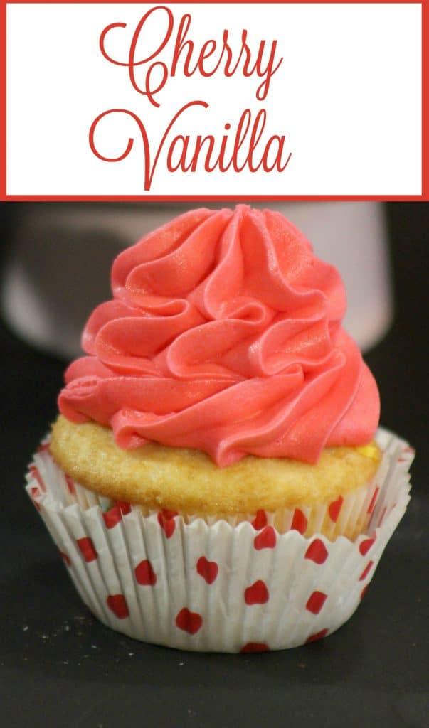 Cherry Vanilla Cupcake