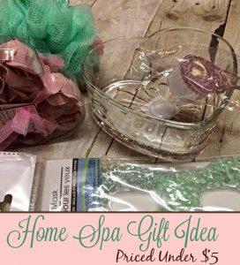 Home Spa Valentine's Day Gift Under $5