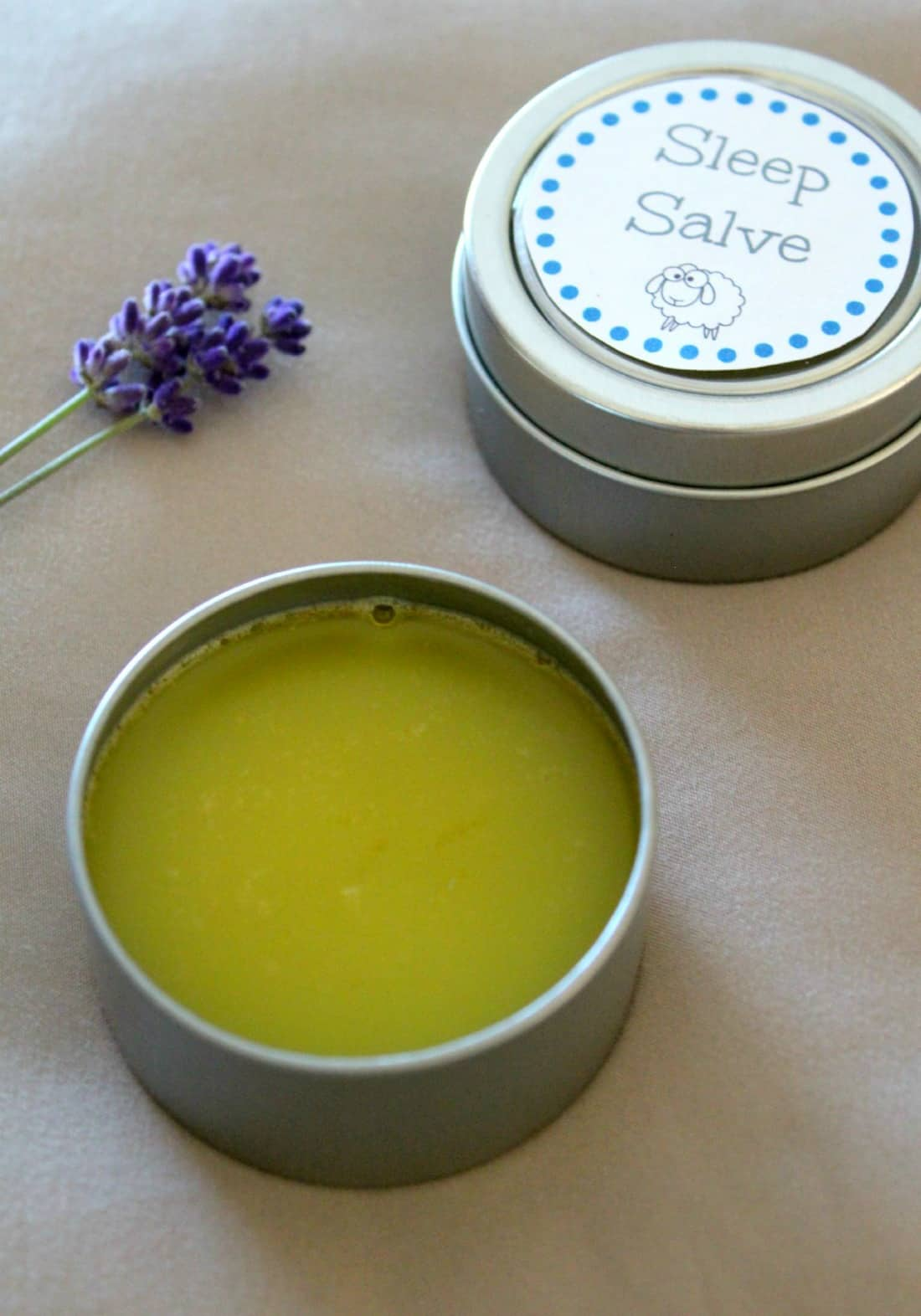 Homemade Sleep Salve Recipe