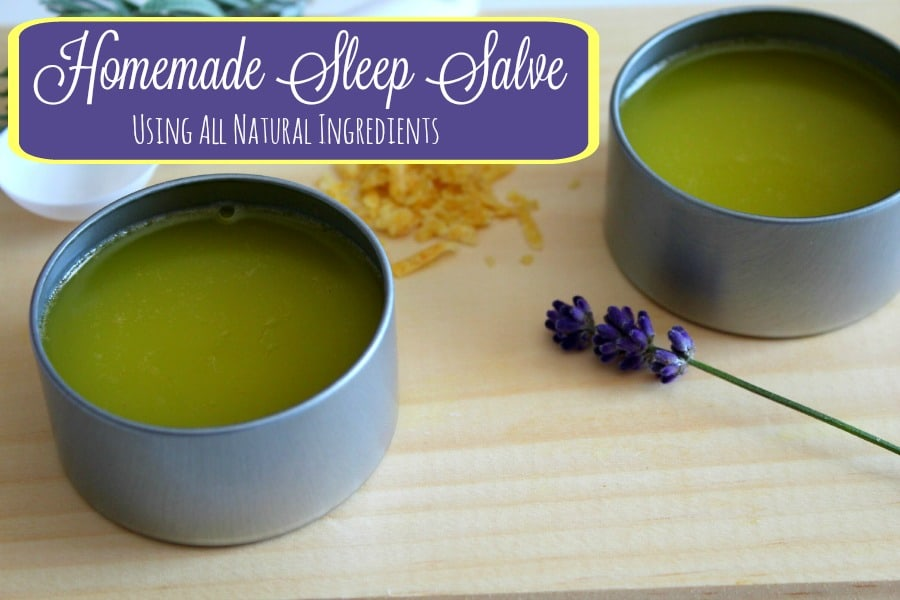 Homemade Sleep Salve