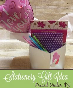 Stationery Valentine's Day Gift Under $5