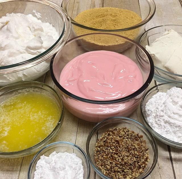 Strawberry Dessert Ingredients