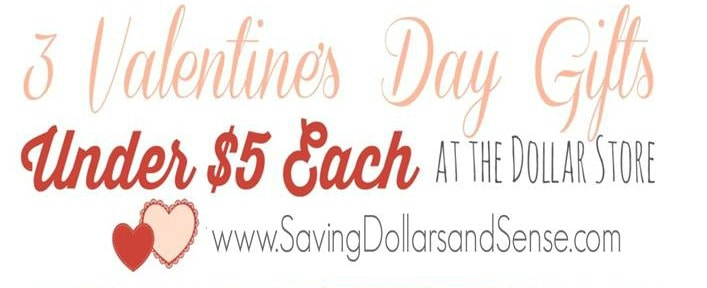 Valentine Gift Ideas Under $5