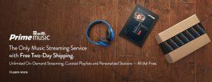 Amazon Prime Free Music Streaming Service