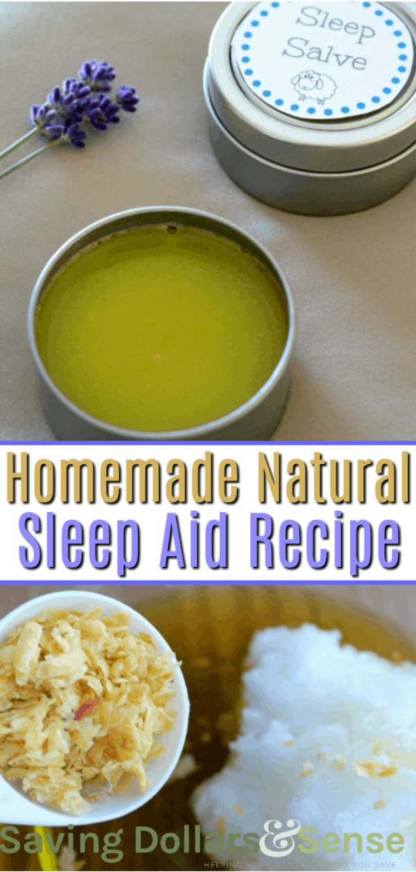 Homemade natural Sleep aid recipe