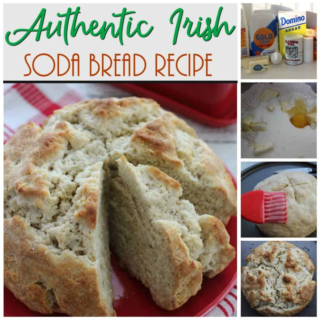 Authentic Irish Soda Bread steps