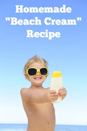 Homemade Beach Cream Recipe