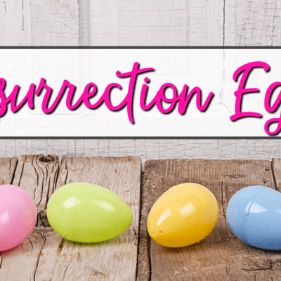 Homemade Resurrection Eggs Printables