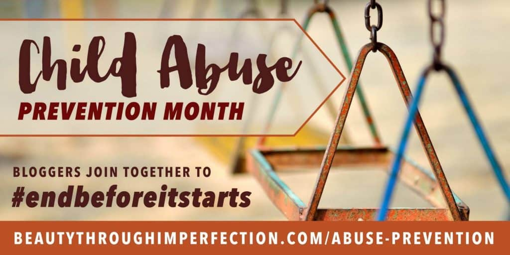 Child abuse prevention month.