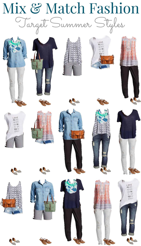 4.14 Mix & Match Fashion - Target Summer Styles VERTICAL