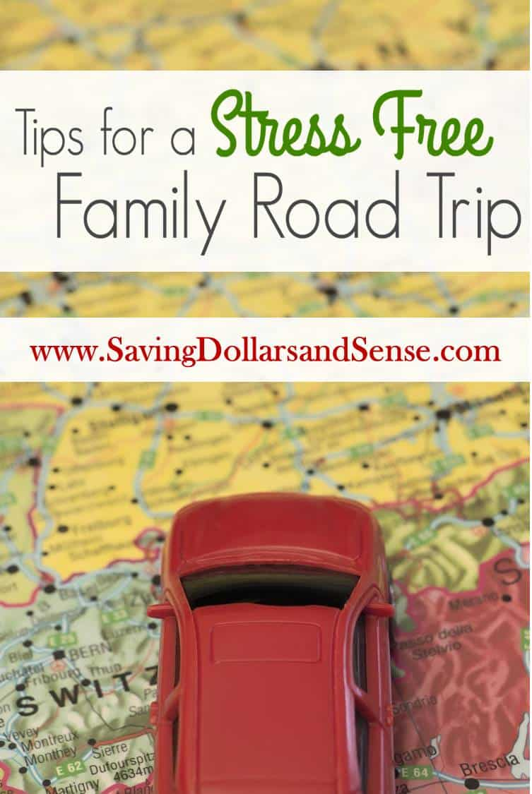4.24 Tips for a Stress Free Family Road Trip IMAGE