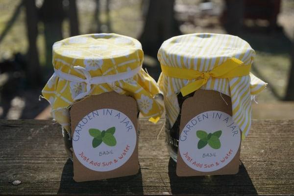 Garden Mason Jars
