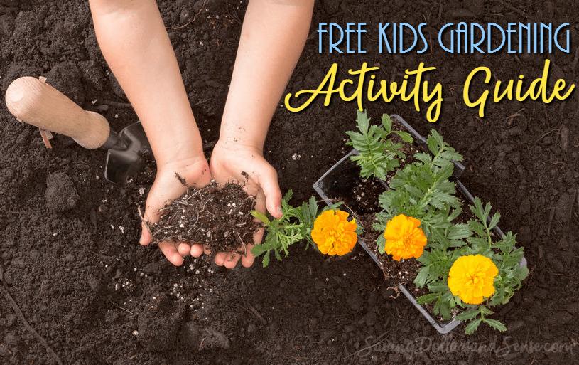 Free kids gardening activity guide