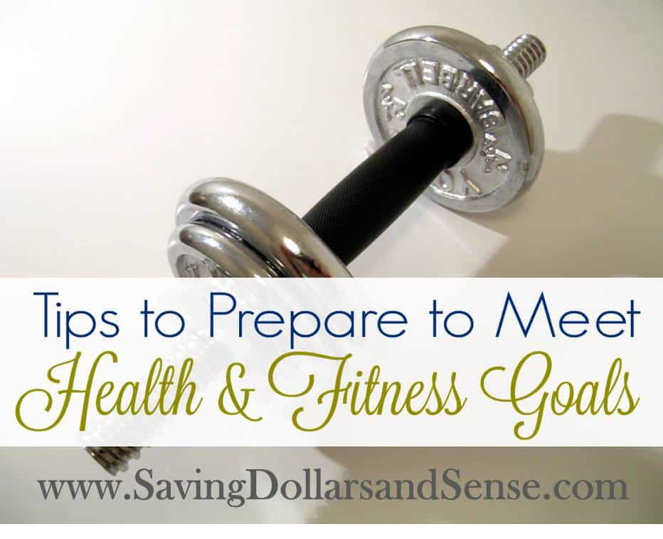 How to Prepare to Meet Your Health Goals