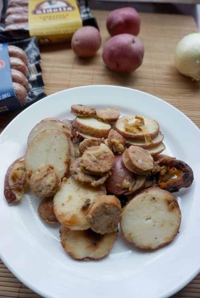 Delicious Cajun Potato Andouille Skillet Recipe