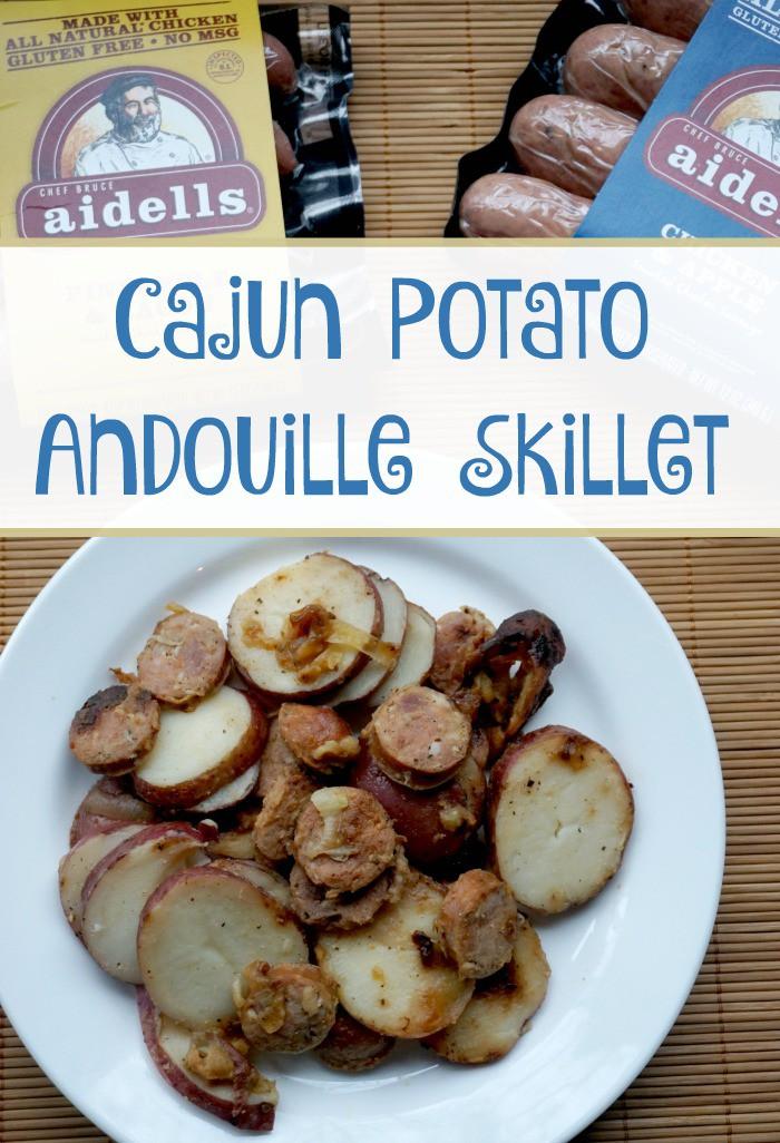 Cajun Potato Andouille Skillet