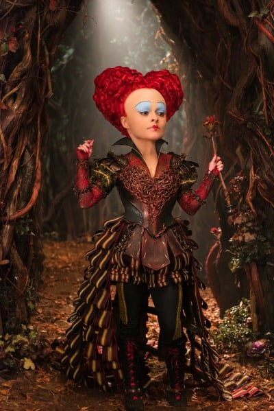 Alice (Mia Wasikowska) returns to the whimsical world of Underland and encounters the Red Queen (Helena Bonham Carter) in Disney\'s ALICE THROUGH THE LOOKING GLASS, an all-new adventure featuring the unforgettable characters from Lewis Carroll\'s beloved stories.
