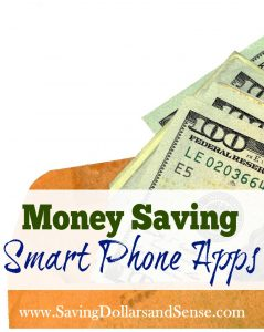 Best Money Saving Smartphone Apps
