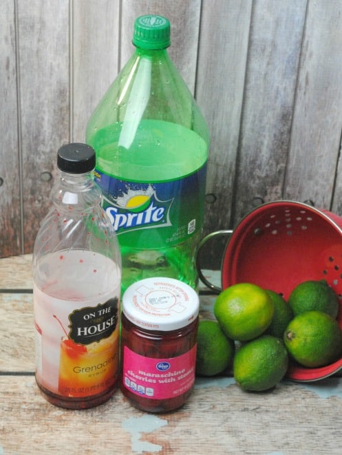 sonic limeade ingredients