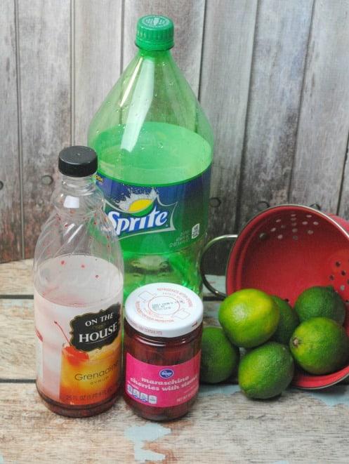 sonic limeade ingredients