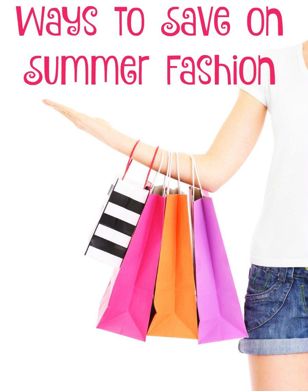 summer fashion savings