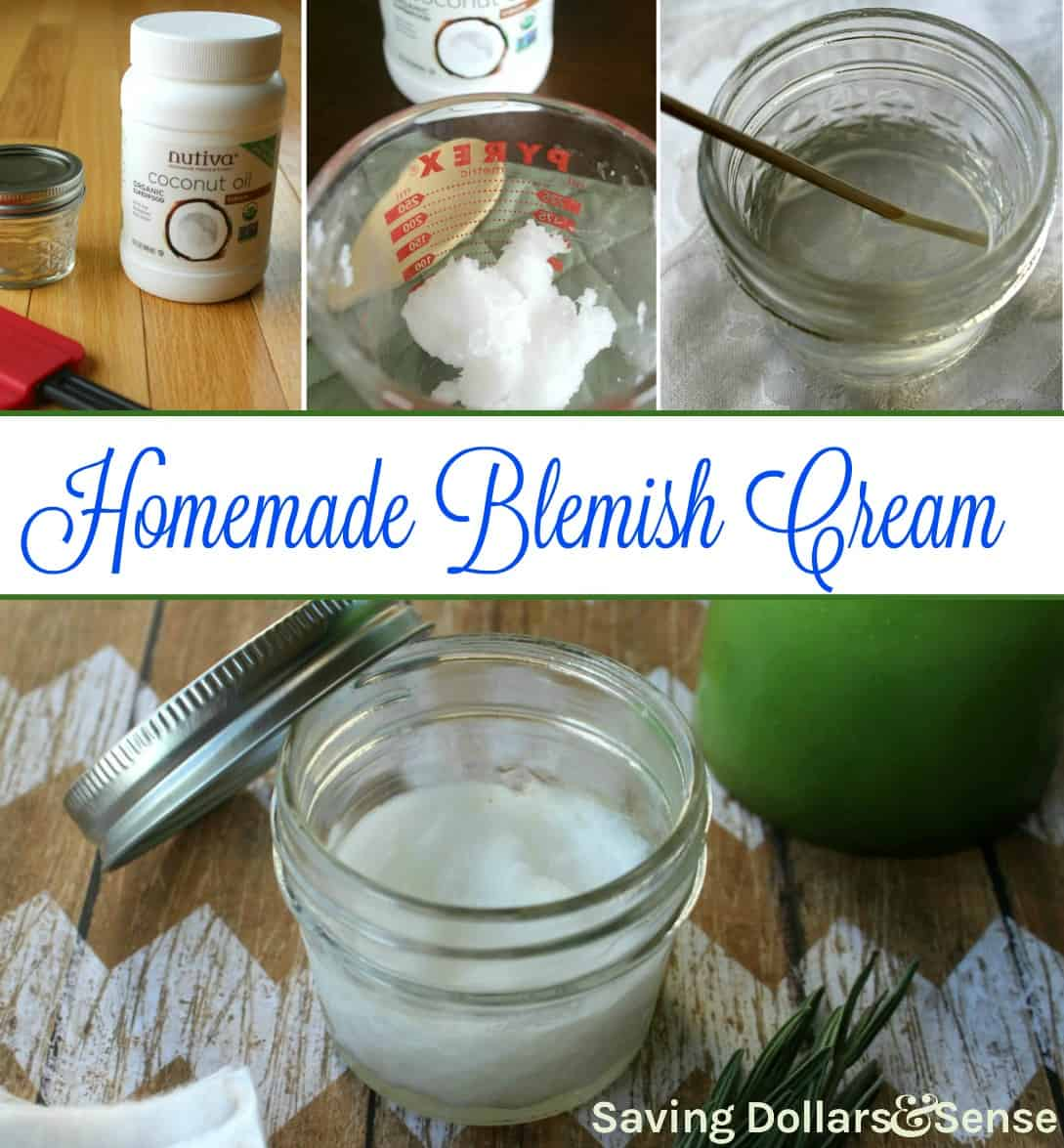 Homemade Blemish Cream