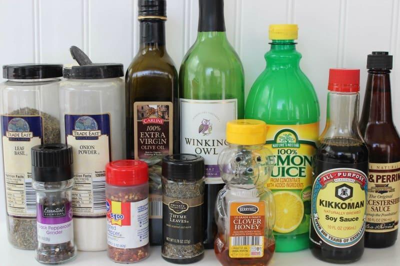 London Broil Ingredients