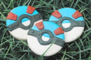 Pokemon Go (Rare) Pokeball Cookies