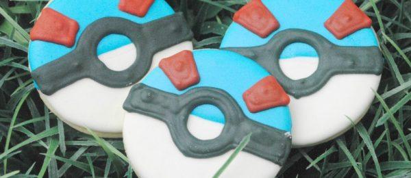 Pokemon Go (Rare) Pokeball Cookies