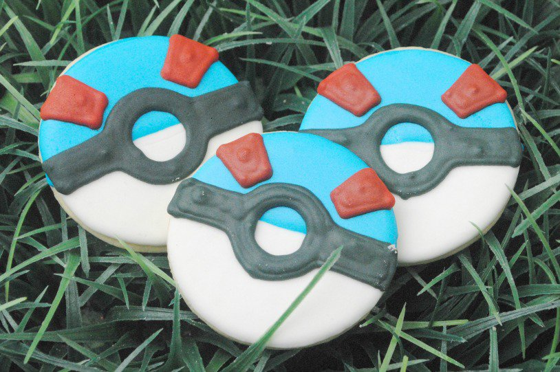Pokemon Go Cookies FB