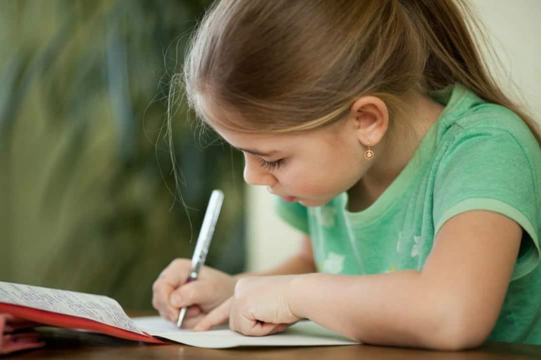 girl homework