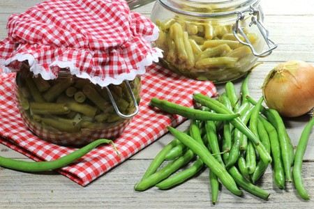 51585313 - home canned green beans