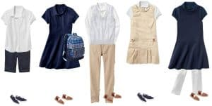 Mix & Match School Uniforms for Girls