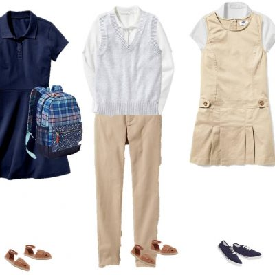7.27 Mix & Match Fashion - GIRLS School Uniforms from Old Navy 11-15