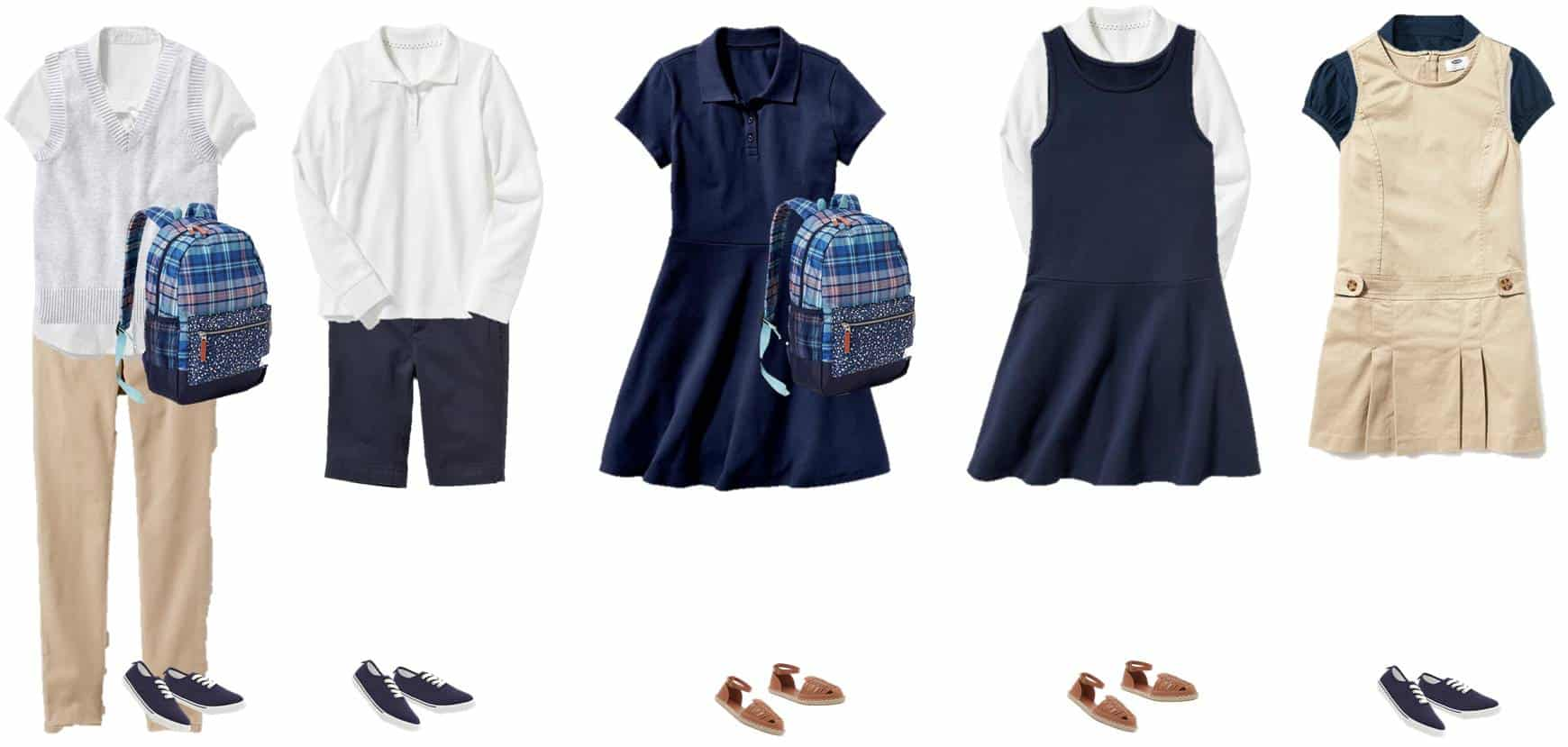 Mix Match School Uniforms For Girls Saving Dollars Sense