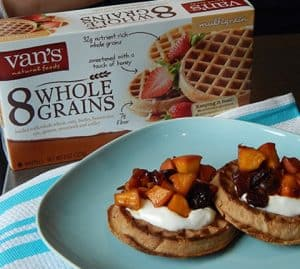 National Waffle Day Recipes & Giveaway!