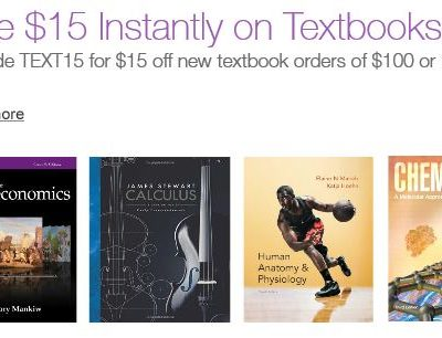 How to Save on Textbooks + $15 Coupon Code