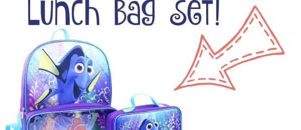 Free Disney Finding Dory Backpack & Lunch Bag Set