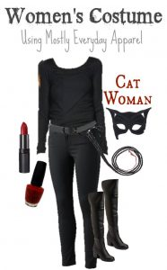 Homemade Cat Woman Costume