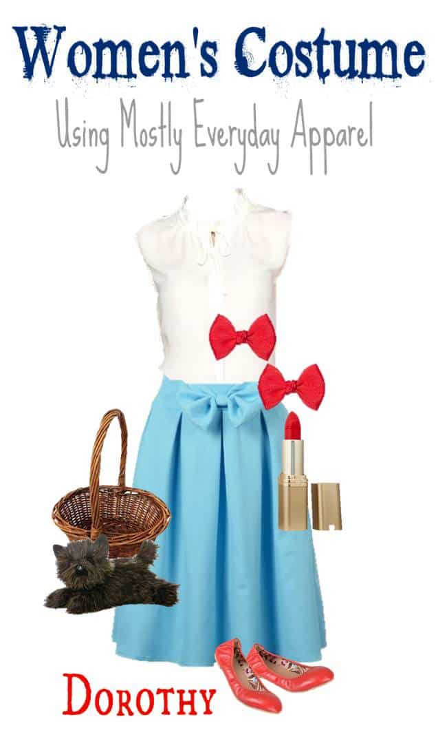 8.28 Wearable Everyday Halloween Costume - DOROTHY