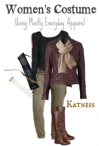 Homemade Katniss Costume