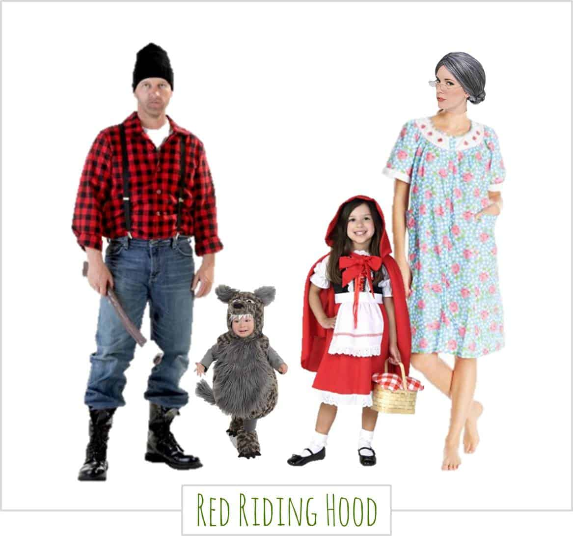 Little Red Riding Hood,  Halloween Costumes for the Whole Family