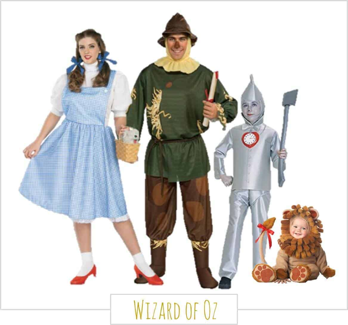 The Wizard of Oz,  Halloween Costumes for the Whole Family