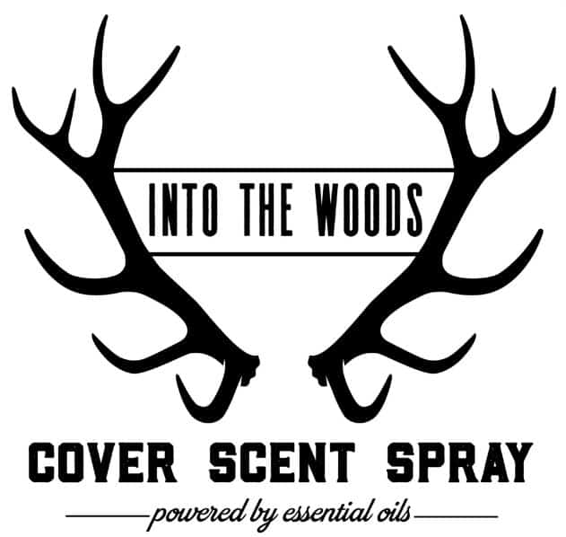 Into the woods cover scent spray using essential oils.