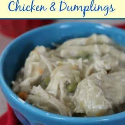 Crockpot Chicken and Dumplings