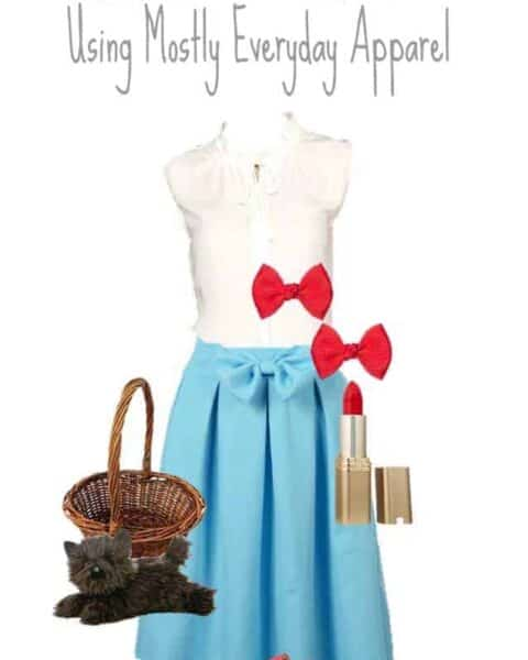complete Dorothy costume
